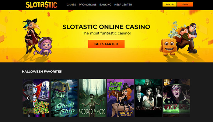 Slotastic Online Casino Website